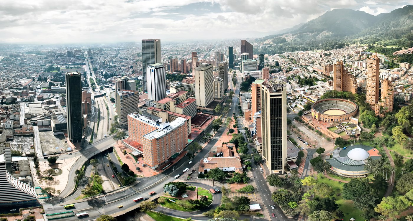 Fotografía panorámica de Bogotá, Bogotá en fotografía, Fotografía de Bogotá