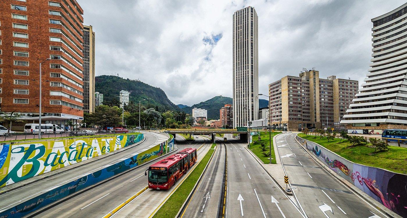 Skyline Ciudad de Bogotá