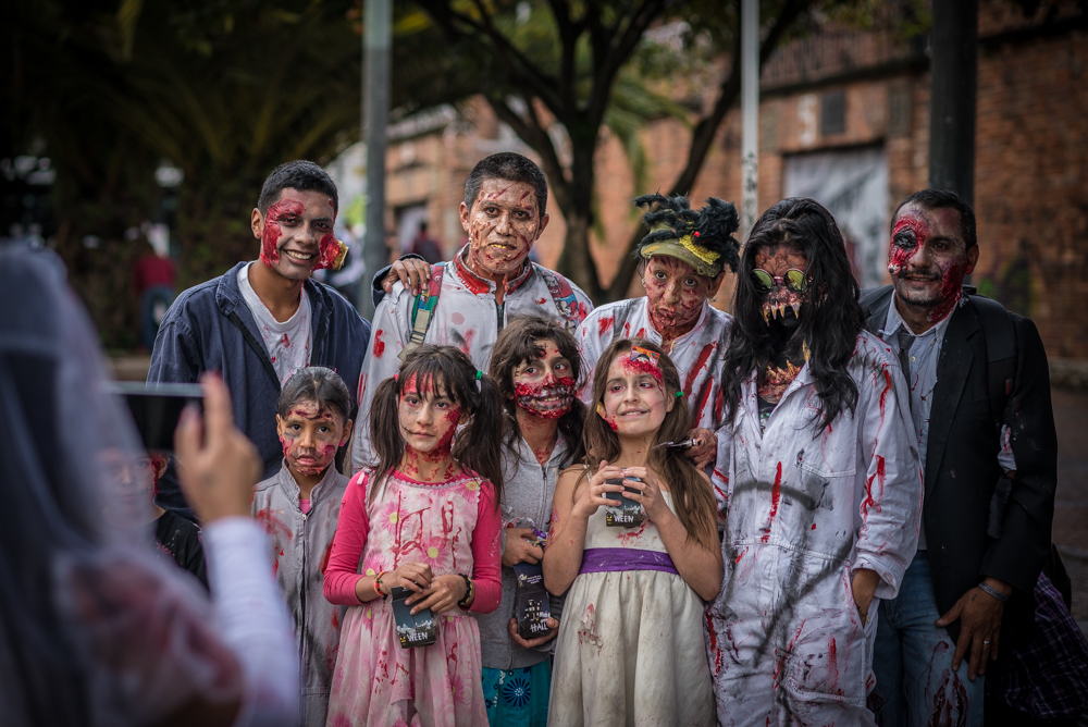 Marcha Zombie 2016 // Bogotá