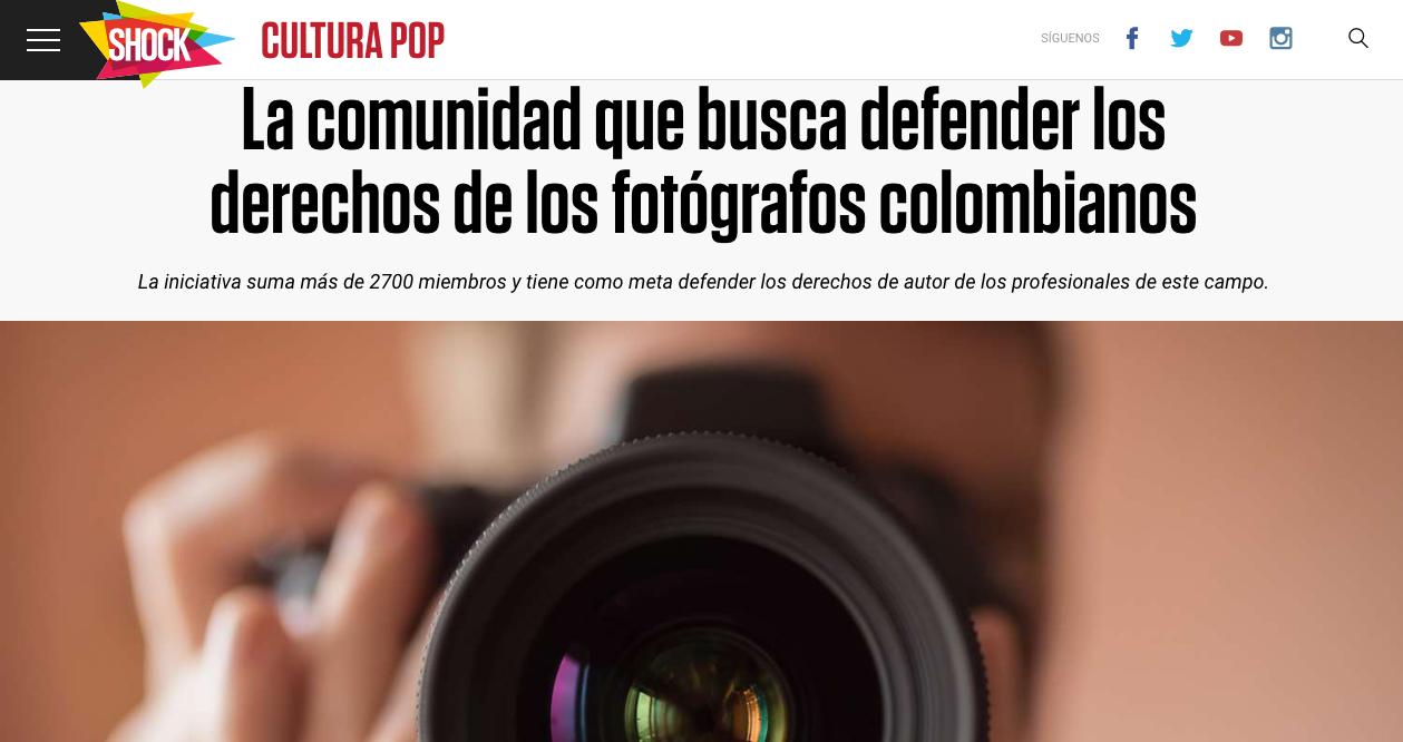 derechos de los fotógrafos