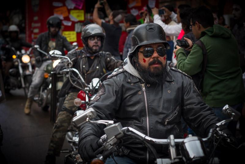 Zombie motociclista