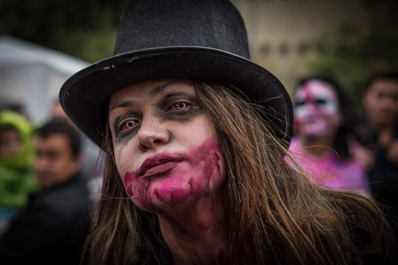 Marcha Zombie Bogota 2017